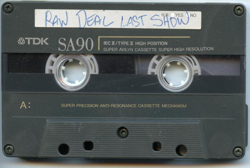 Raw Deal - Last Show cassette